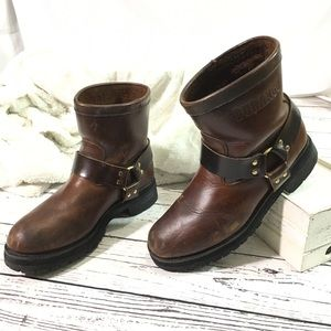 Durango vintage harness logger motorcycle boots